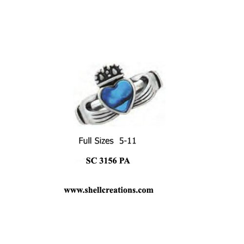 SC3156 Ladies Paua Shell Stainless Steel