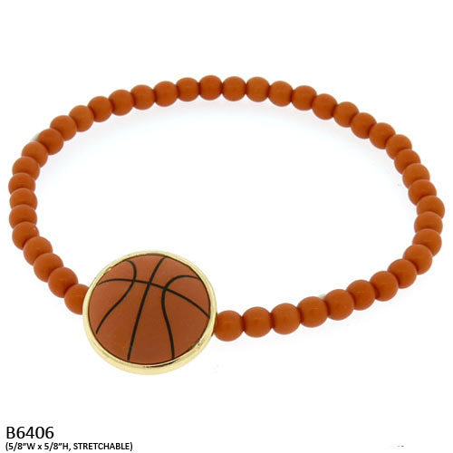 SC-B6406 Basketball Stretch Bracelet