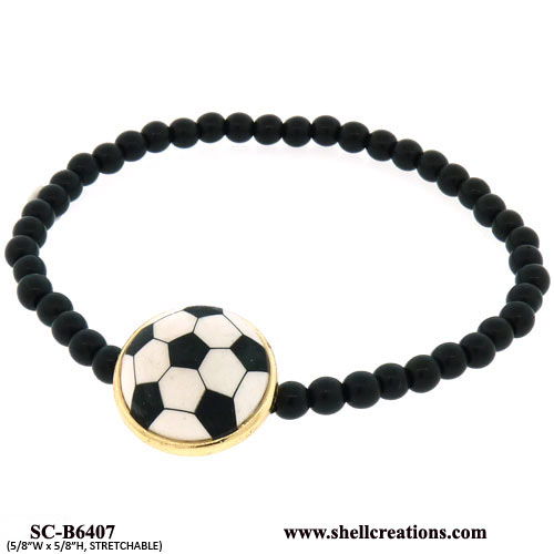 SC-B6407 Football Stretch Bracelet