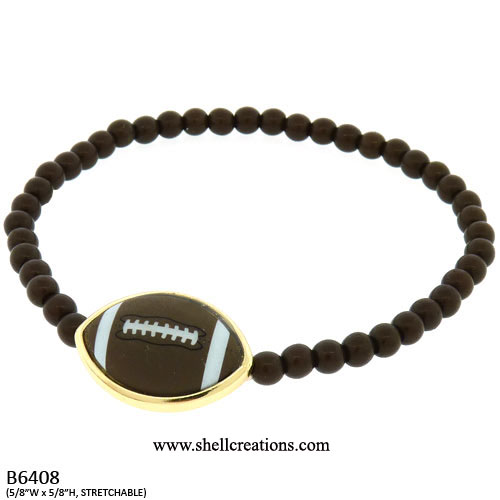 SC-B6408 Football Stretch Bracelet