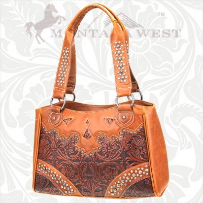 SC-CA-8335 Cheyenne Autumn Collection Trinity Ranch Handbag