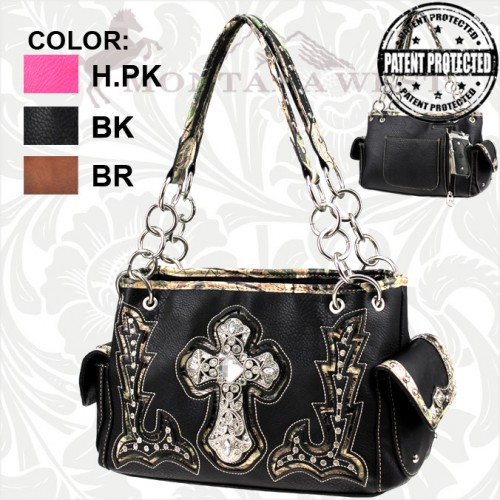 SC4-CFMG-8085 Spiritual Camo Collection Handbag