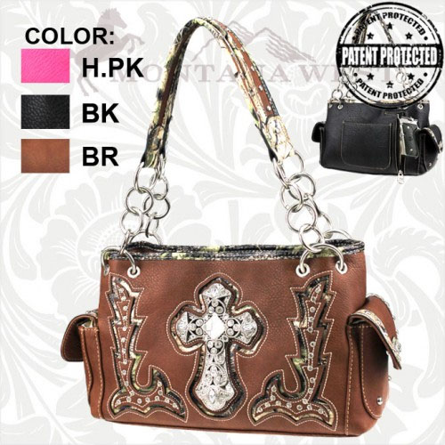 SC-CFMG-8085 Concealed Handgun Spiritual Camo Collection Handbag