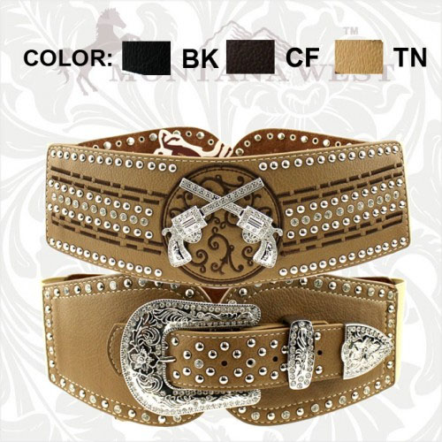CIB-B1201 Cowgirl Collection Waist/Stretch Belt