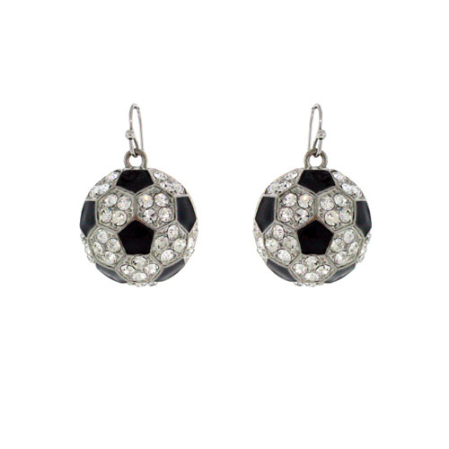 ME53129 Soccerball Earrings