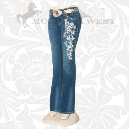 SC-JN-TR012 Stretchy Trinity Ranch Denim Jeans