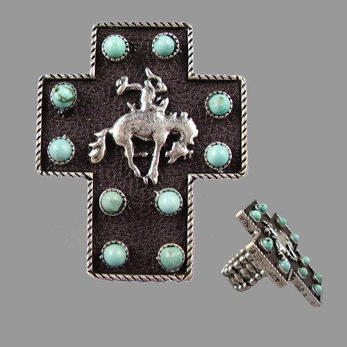 MR505CEK Western/Cross Cowboy Rodeo Ring