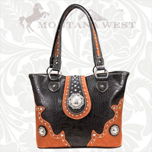 SCO-8317 Montana West Cowgirl Collection Handbag