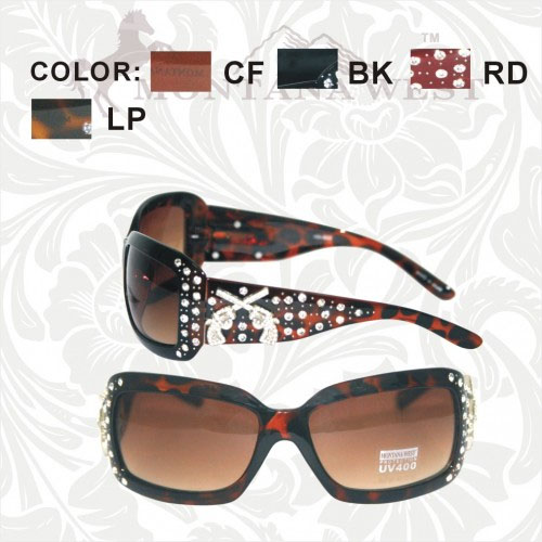 SGS-001K Montana West Cowgirl Collection Sunglasses
