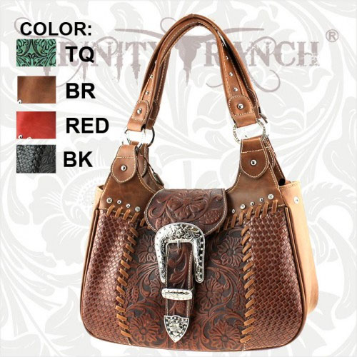 SR8337 Sedona Ranch Collection Trinity Ranch Handbag