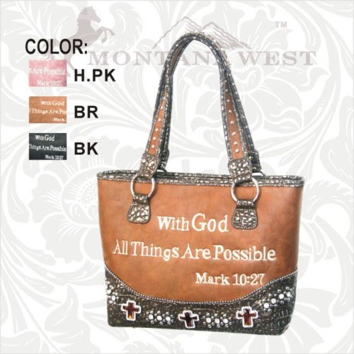 SCH-VS-919-SC SCRIPTURE VERSE COLLECTOR'S HANDBAG