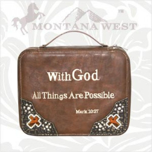 VS-DC001 Montana West Scripture Collection Bible Cover
