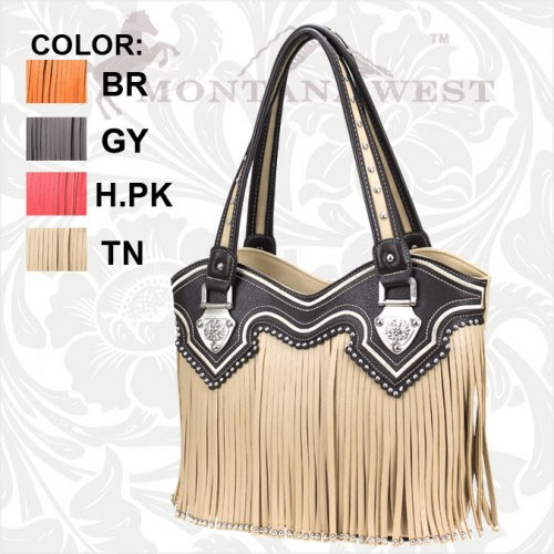 WL-8096 Fringe Collection Handbag